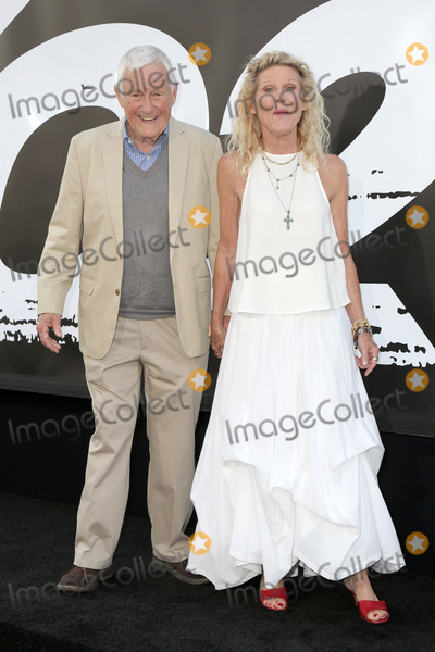 """Orson Bean, Ally Mills Photo - LOS ANGELES - JUL 17:  Orson Bean, Ally Mills at the """"Equalizer"""" Premiere at the TCL Chinese Theater IMAX on July 17, 2018 in Los Angeles, CA"""