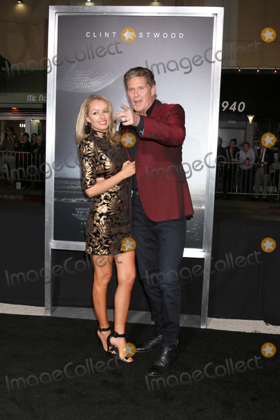 """David Hasselhoff, Hayley Roberts Photo - LOS ANGELES - DEC 10:  Hayley Roberts, David Hasselhoff at the """"The Mule"""" World Premiere at the Village Theater on December 10, 2018 in Westwood, CA"""