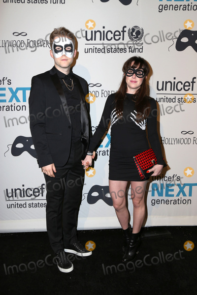 Allyn Rachel Photo - LOS ANGELES - OCT 30:  Patrick Carlyle, Allyn Rachel at the 2nd Annual UNICEF Masquerade Ball at the Hollywood Forever on October 30, 2014 in Los Angeles, CA