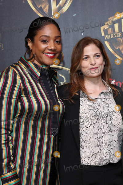 Tiffany, Tiffany Haddish, Andrea Berloff Photo - LAS VEGAS - APR 2:  Tiffany Haddish, Andrea Berloff at the 2019 CinemaCon - Warner Bros Photo Call at the Linwood Dunn Theater on April 2, 2019 in Las Vegas, NV