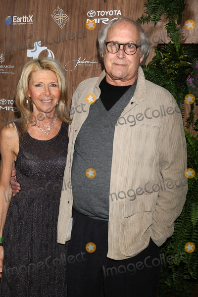 Chevy Chase, Four Seasons, The Four Seasons Photo - LOS ANGELES - FEB 20:  Jayni Luke, Chevy Chase at the Global Green 2019 Pre-Oscar Gala at the Four Seasons Hotel on February 20, 2019 in Beverly Hills, CA