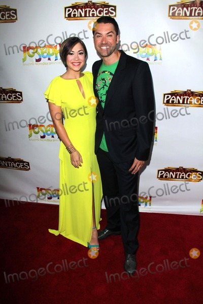 """Ace Young, Diana De Garmo, Joseph Corré Photo - LOS ANGELES - JUN 4:  Diana DeGarmo, Ace Young at the """"Joseph And The Amazing Technicolor Dreamcoat"""" Opening at Pantages Theater on June 4, 2014 in Los Angeles, CA"""