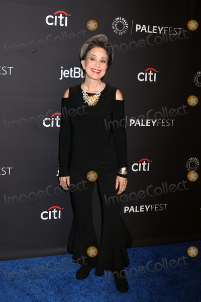 """Annie Potts, Big Bang Photo - LOS ANGELES - MAR 21:  Annie Potts at the 2018 PaleyFest Los Angeles - """"Big Bang Theory, Young Sheldon"""" at Dolby Theater on March 21, 2018 in Los Angeles, CA"""