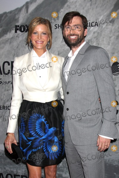 "Anna Gunn, David Tennant Photo - LOS ANGELES - SEP 30:  Anna Gunn, David Tennant at the ""Gracepoint"" Premiere Party at LACMA on September 30, 2014 in Los Angeles, CA"