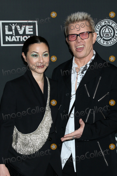 Billy Idol, China Chow Photo - LOS ANGELES - JAN 4:  China Chow and Billy Idol at the Art of Elysium Gala - Arrivals at the Hollywood Palladium on January 4, 2020 in Los Angeles, CA