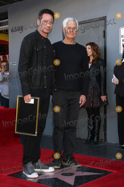Chris Carter, David Duchovny Photo - LOS ANGELES - JAN 25:  David Duchovny, Chris Carter at the David Duchovny Hollywood Walk of Fame Star Ceremony at the Fox Theater on January 25, 2016 in Los Angeles, CA