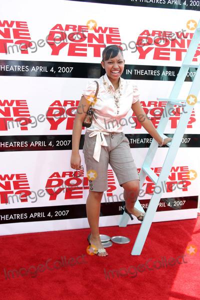 """Aleisha Allen Photo - Aleisha Allen""""Are We Done Yet?"""" PremiereMann's Village TheaterWestwood, CAApril 1, 2007"""