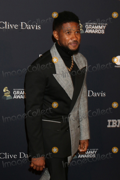 Clive Davis, Usher Photo - LOS ANGELES - JAN 25:  Usher at the 2020 Clive Davis Pre-Grammy Party at the Beverly Hilton Hotel on January 25, 2020 in Beverly Hills, CA