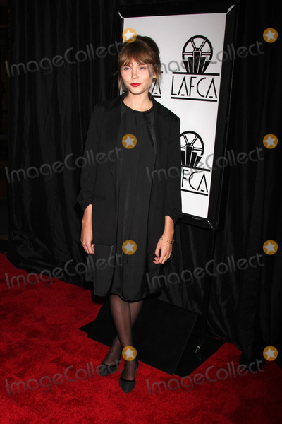 Agata Trzebuchowska Photo - LOS ANGELES - JAN 10:  Agata Trzebuchowska at the 40th Annual Los Angeles Film Critics Association Awards at a Intercontinental Century City on January 10, 2015 in Century City, CA