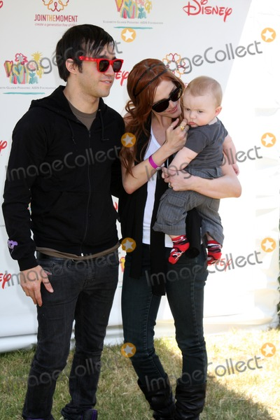 "Ashlee Simpson, Ashlee Simpson Wentz, Ashlee Simpson-Wentz, Pete Wentz, Elizabeth Glaser, BRONX MOWGLI, Bronx Wentz Photo - Pete Wentz, Ashlee Simpson-Wentz & son Bronx Mowgli Wentz arriving at the ""A Time For Heroes Celebrity Carnival"" benefiting the Elizabeth Glaser Pediatrics AIDS Foundation at the Wadsworth Theater Grounds in Westwood , CA on June 7, 2009"