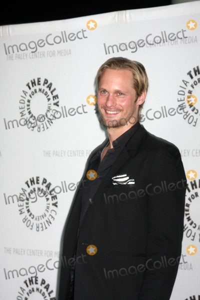 "Alexander Skarsgard, Alexander Skarsgard- Photo - Alexander Skarsgard   arriving at the ""True Blood"" PaleyFest09 event on April 13 ,2009 at the ArcLight Theaters in Los Angeles, California."