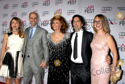 Andrea Meszaros, Carlo Ponti, Edoardo Ponti, Sasha, Sasha Alexander, Sophia Loren Photo - LOS ANGELES - NOV 12:  Sasha Alexander, Edoardo Ponti, Sophia Loren, Carlo Ponti, Andrea Meszaros Ponti at the A Special Tribute to Sophia Loren at AFI Film Festival at the Dolby Theater on November 12, 2014 in Los Angeles, CA