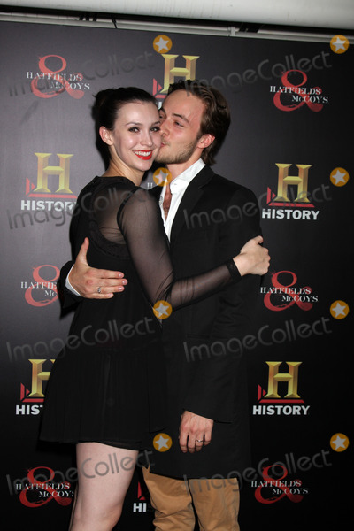 """Alix Berg Photo - LOS ANGELES - SEP 22:  Alix Berg, husband arrives at the """"HATFIELDS & McCOYS"""" Pre-Emmy Party at SOHO Club on September 22, 2012 in West Hollywood, CA"""