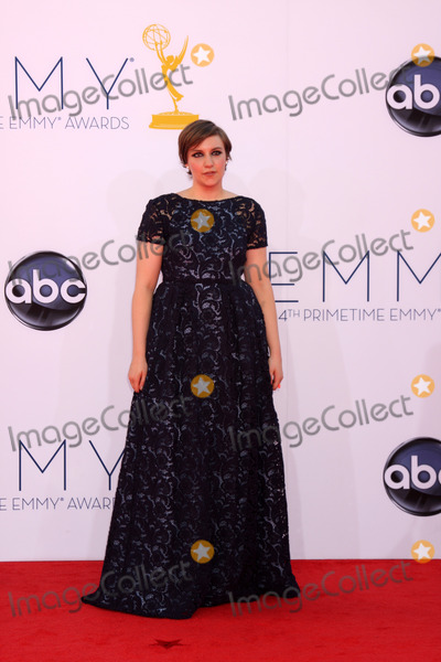 Lena Dunham Photo - LOS ANGELES - SEP 23:  Lena Dunham arrives at the 2012 Emmy Awards at Nokia Theater on September 23, 2012 in Los Angeles, CA