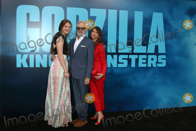 "Amy Landecker, Bradley Whitford Photo - LOS ANGELES - MAY 18:  Mary Louisa Whitford, Bradley Whitford, Amy Landecker at the ""Godzilla: King Of The Monsters"" Premiere at the TCL Chinese Theater IMAX on May 18, 2019 in Los Angeles, CA"