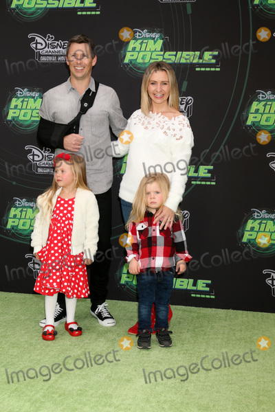 """Beverly Mitchell Photo - LOS ANGELES - FEB 12:  Michael Cameron, Kenzie Cameron, Hutton Cameron, Beverly Mitchell at the """"Kim Possible"""" Premiere Screening at the TV Academy on February 12, 2019 in Los Angeles, CA"""