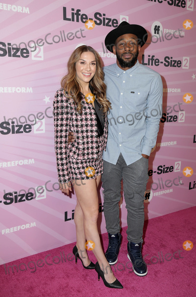 "Stephen Boss, Allison Holker Photo - LOS ANGELES - NOV 27:  Allison Holker, Stephen Boss at the ""Life Size 2"" Premiere Screening at the Roosevelt Hotel on November 27, 2018 in Los Angeles, CA"