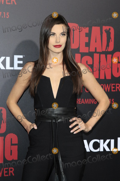"""Meghan Ory, Kim Novak, The Dead Photo - LOS ANGELES - MAR 11:  Meghan Ory at the """"Dead Rising: Watchtower"""" World Premiere at the Kim Novak Theater, Sony Studios on March 11, 2015 in Culver City, CA"""