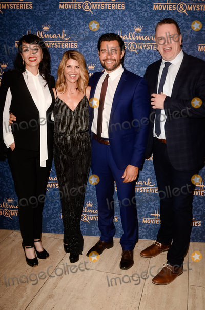 """Lori Loughlin, Sarah Strange Photo - LOS ANGELES - AUG 1:  Sarah Strange, Lori Loughlin, Steve Bacic, Kevin O'Grady at the """"Garage Sale Mystery"""" Premiere Screening at the Paley Center for Media on August 1, 2017 in Beverly Hills, CA"""