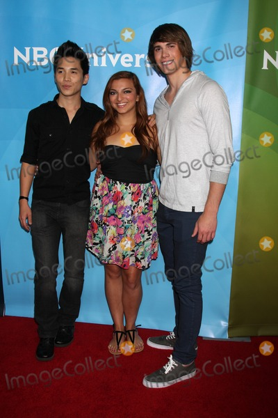 Abraham Lim, Blake Jenner, Aylin Bayramuglu Photo - LOS ANGELES - JUL 25:  Abraham Lim, Aylin Bayramuglu, Blake Jenner arrives at the NBC Universal Cable TCA Summer 2012 Press Tour at Beverly Hilton Hotel on July 25, 2012 in Beverly Hills, CA