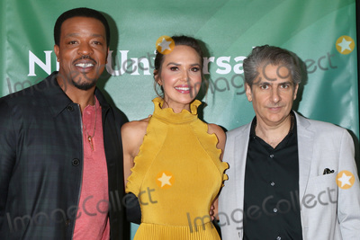 Arielle Kebbel, Michael Imperioli, Russell Hornsby, ARIELE KEBBEL Photo - LOS ANGELES - JAN 11:  Russell Hornsby, Arielle Kebbel, and Michael Imperioli at the NBCUniversal Winter Press Tour at the Langham Huntington Hotel on January 11, 2020 in Pasadena, CA