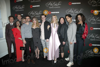 """Photo - LOS ANGELES - MAR 15:  Pretty Little Liars, cast at the """"Pretty Little Liars: The Perfectionists"""" Premiere at the Hollywood Athletic Club on March 15, 2019 in Los Angeles, CA"""