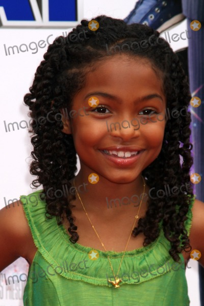 """Yara Shahidi Photo - Yara Shahidi  arriving at the """"Image That"""" Premiere at the Paramount Theater on the Paramount Lot in Los Angeles, CA on June 6, 2009"""