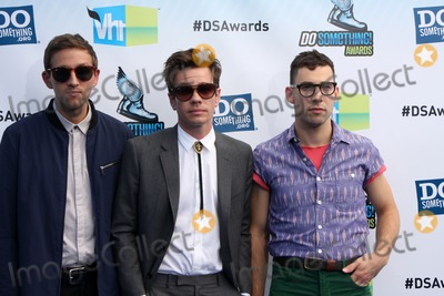 Jack Antonoff, Andrew Dost, Nate Ruess Photo - Los Angeles - AUG 19:  Andrew Dost, Nate Ruess and Jack Antonoff of the band fun arrives at the 2012 Do Something Awards at Barker Hanger on August 19, 2012 in Santa Monica, CA