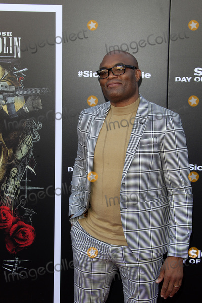 """Anderson Silva Photo - LOS ANGELES - JUN 26:   Anderson Silva at the """"Sicario: Day Of The Soldado"""" Premiere at the Village Theater on June 26, 2018 in Westwood, CA"""