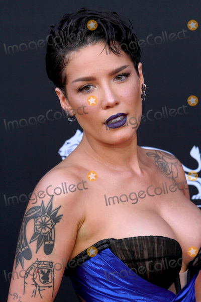 Photo - LAS VEGAS - MAY 1:  Halsey at the 2019 Billboard Music Awards at MGM Grand Garden Arena on May 1, 2019 in Las Vegas, NV