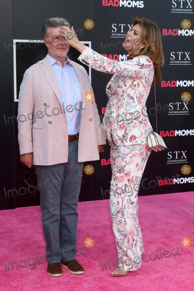"Alan Thicke, Tanya Callau Photo - LOS ANGELES - JUL 26:  Alan Thicke, Tanya Callau at the ""Bad Moms"" Los Angeles Premiere at the Village Theater on July 26, 2016 in Westwood, CA"