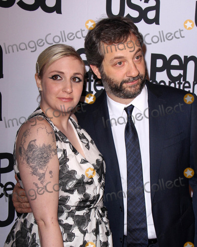 Judd Apatow, Lena Dunham Photo - LOS ANGELES - NOV 11:  Lena Dunham, Judd Apatow at the PEN Center USA 24th Annual Literary Awards at the Beverly Wilshire Hotel on November 11, 2014 in Beverly Hills, CA