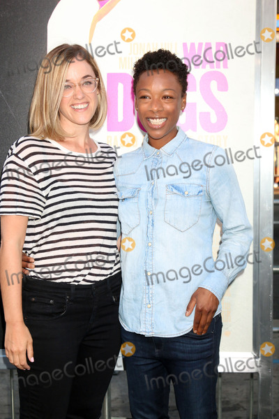 "Samira Wiley, Lauren Morelli Photo - LOS ANGELES - AUG 15:  Lauren Morelli, Samira Wiley at the War Dogs"" Premiere at the TCL Chinese Theater IMAX on August 15, 2016 in Los Angeles, CA"