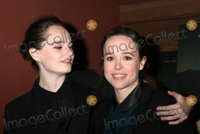"""Ellen Page, The Cure Photo - LOS ANGELES - FEB 20:  Emma Portner, Ellen Page at """"The Cured"""" LA Screening at Sunset 5 Theater on February 20, 2018 in West Hollywood, CA""""The Cured"""" LA Screening at Sunset 5 Theater on February 20, 2018 in West Hollywood, CA"""