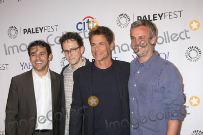 Fred Savage, Rob Lowe, Jarrad Paul, Andrew Mogel Photo - LOS ANGELES - SEP 15:  Fred Savage, Jarrad Paul, Rob Lowe, Andrew Mogel at the PaleyFest 2015 Fall TV Preview - FOX at the Paley Center For Media on September 15, 2015 in Beverly Hills, CA