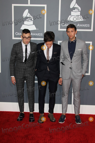 Jack Antonoff, Andrew Dost, Nate Ruess, Grammy Awards Photo - LOS ANGELES - FEB 10:  fun. - Jack Antonoff; Nate Ruess; Andrew Dost o arrives at the 55th Annual Grammy Awards at the Staples Center on February 10, 2013 in Los Angeles, CA