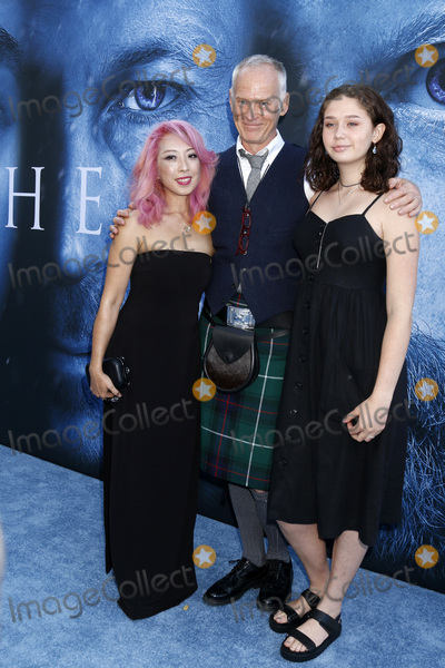 """Alan Taylor, The Game, Walt Disney Photo - LOS ANGELES - JUL 12:  Girlfriend, Alan Taylor, daughter at the """"Game of Thrones"""" Season 7 Premiere Screening at the Walt Disney Concert Hall on July 12, 2017 in Los Angeles, CA"""