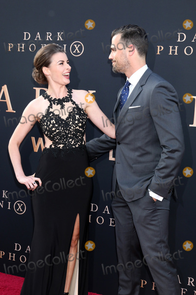 """The Darkness, William Thomas, Aphra Williams, Thomas Beaudoin Photo - LOS ANGELES - JUN 4:  Aphra Williams, Thomas Beaudoin at the """"Dark Phoenix"""" World Premiere at the TCL Chinese Theater IMAX on June 4, 2019 in Los Angeles, CA"""