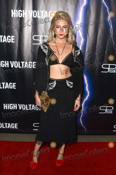 "Allie Gonino Photo - LOS ANGELES - OCT 16:  Allie Gonino at the ""High Voltage"" Los Angeles Red Carpet Premiere at the TCL Chinese 6 Theater on October 16, 2018 in Los Angeles, CA"