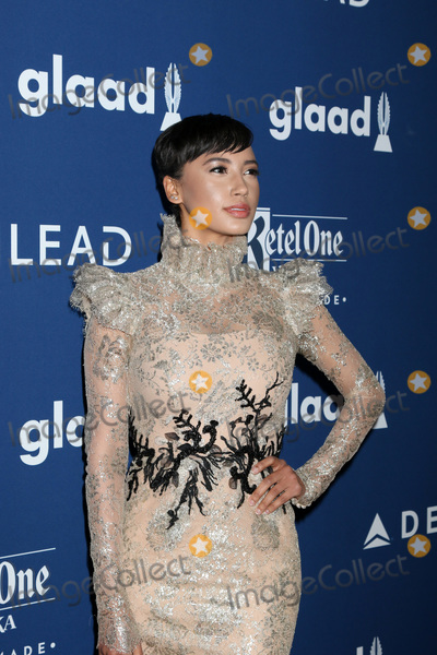 Andy Allo Photo - LOS ANGELES - APR 12:  Andy Allo at GLAAD Media Awards Los Angeles at Beverly Hilton Hotel on April 12, 2018 in Beverly Hills, CA