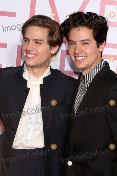 """Cole Sprouse, Dylan Sprouse Photo - LOS ANGELES - MAR 7:  Dylan Sprouse, Cole Sprouse at the """"Five Feet Apart"""" Premiere at the Bruin Theater on March 7, 2019 in Westwood, CA"""