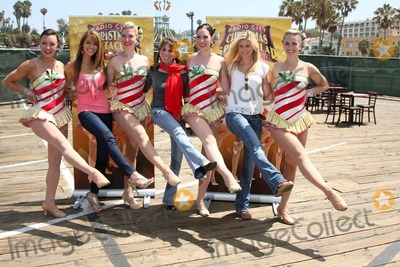 Kate Linder, Stephanie Gatschet, The Radio City Rockettes Photo - LOS ANGELES - AUG 12:  Chrishnell Strause, Kate Linder,  Stephanie Gatschet, with Rockettes at the  Kicking Across America with the Radio City Rockettes Event at Santa Monica Pier on August 12, 2010 in Santa Monica , CA