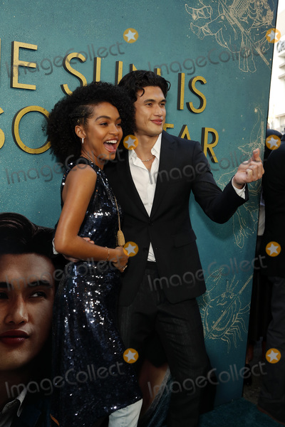 """Yara Shahidi, Charles Melton Photo - LOS ANGELES - MAY 13:  Yara Shahidi, Charles Melton at the """"The Sun Is Also A Star"""" World Premiere at the Pacific Theaters at the Grove on May 13, 2019 in Los Angeles, CA"""