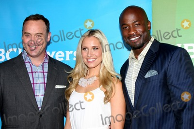 Matt Iseman, Akbar Gbajabiamila, Kristine Leahy Photo - LOS ANGELES - FEB 2:  Matt Iseman, Kristine Leahy, Akbar Gbajabiamila at the NBC Universal Summer Press Day 2015 at the Huntington Langham Hotel on April 2, 2015 in Pasadena, CA