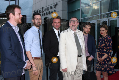 "Joe Swanberg, TI, Ti West, Gene Jones, AJ Bowen, Amy Seimetz, Kentucker Audley Photo - LOS ANGELES - MAY 20:  Joe Swanberg, Ti West, A.J. Bowen, Gene Jones, Kentucker Audley, Amy Seimetz at the ""The Sacrament"" Premiere at ArcLight Hollywood Theaters on May 20, 2014 in Los Angeles, CA"