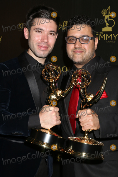 Andrew Gregory, Gregori J Martin, Gregori J. Martin, J. Martin, Kristos Andrews, Kristos Andrew Photo - LOS ANGELES - APR 27:  Kristos Andrews, Gregori J Martin at the 2018 Daytime Emmy Awards - Creative at Pasadena Civic Auditorium on April 27, 2018 in Pasadena, CA