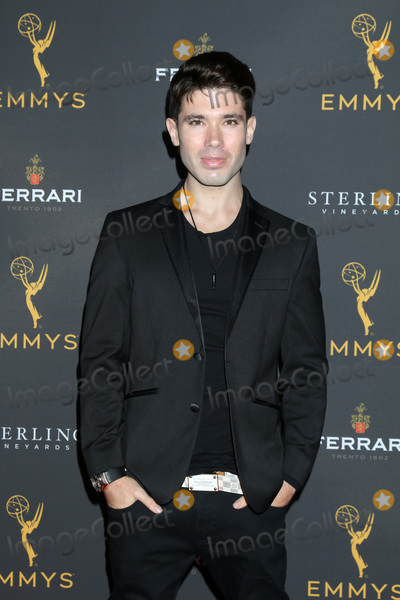 Kristos Andrews, Kristos Andrew Photo - LOS ANGELES - AUG 28:  Kristos Andrews at the 2019 Daytime Programming Peer Group Reception at the Saban Media Center on August 28, 2019 in North Hollywood, CA