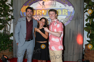 "Edge Photo - LOS ANGELES - MAY 15:  Chris Underwood, Julie Rosenberg, Gavin Whitson at the ""Survivor: Edge of Extinction"" Finale at the CBS Radford on May 15, 2019 in Studio City, CA"