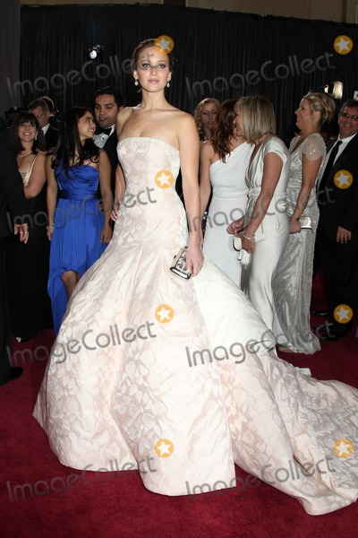 Jennifer Lawrence Photo - LOS ANGELES - FEB 24:  Jennifer Lawrence arrives at the 85th Academy Awards presenting the Oscars at the Dolby Theater on February 24, 2013 in Los Angeles, CA