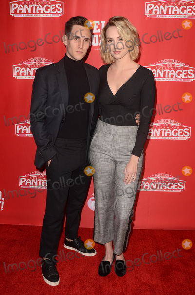 """Photo - LOS ANGELES - JAN 30:  John Krause, Molly McCook at the """"Hello Dolly!"""" Los Angeles Opening night at the Pantages Theater on January 30, 2019 in Los Angeles, CA"""